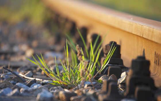 дорога, железная, камни Фон № 78442 разрешение 1920x1200