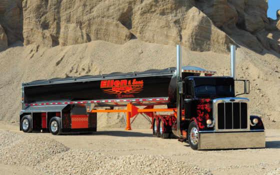 peterbilt, truck, custom, нравится, показать, semi,