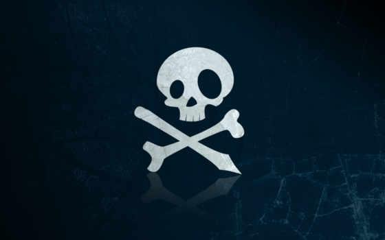 череп, кости Фон № 18457 разрешение 1920x1080