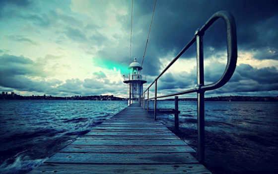 lighthouse, сиднее, широкоформатные, порт, города, разрешением, именем, вконтакте, пользователей,