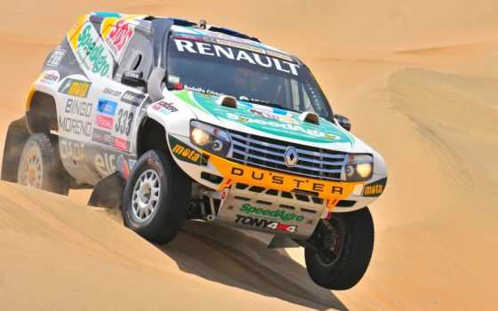 песок, авто, спорт, mitsubishi, rally, renault, внедорожник, dakar,