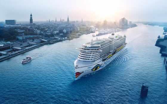 cruise, aidaprima, ночь, лайнер, route, aida, оаэ, ук, francii, бельгия
