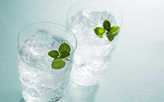 water, glass, столов