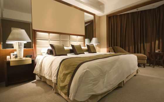 спальня, warm, cozy