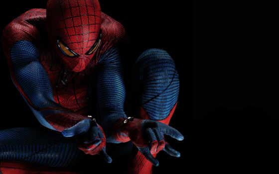 мужчина, паук,