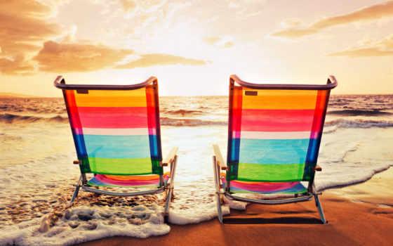 пляж, море, summer, закат, love, clouds, waves, песок, природа, берег,
