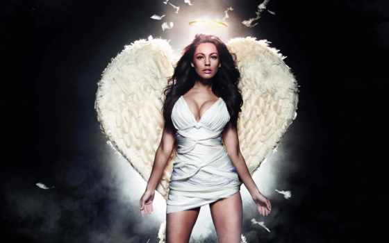 девушка, angel, крыльями, шаблон, фотографий, фотошопа, psd,