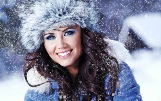 winter, девушка, девушки