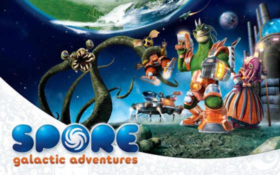spore, galactic, adventures