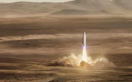 spacex, bfr, маска, rocket, биг, falcon, илон, земле, которая, martian,