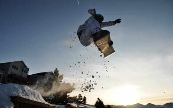 сноуборд, спорт