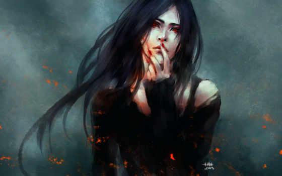 кровь, девушка, Nanfe