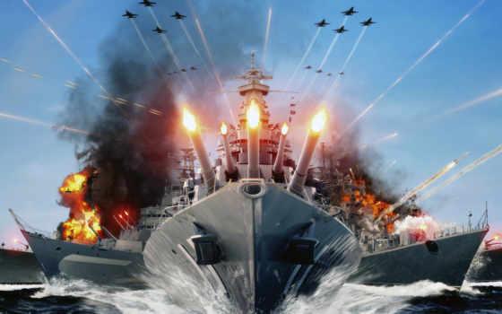 kapal, огонь, perang, masa, world, depan, warships, wallpapershome, untuk, море,