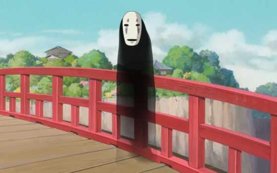 унесенные, призраками, безликий, anime, миядзаки, spirited, далеко, тихиро, art,