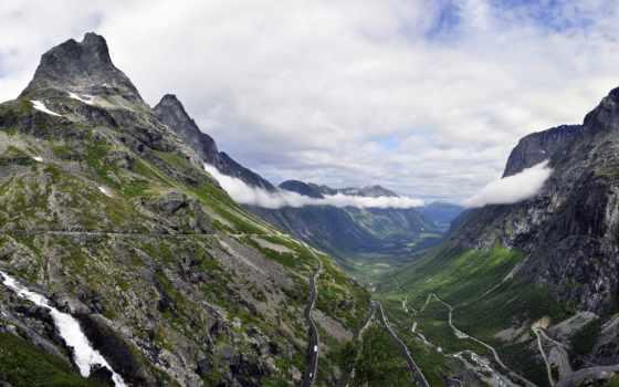 norwegian, норвегия, trolley, лестница, alesund, trollstigen, вестланн, vestlandet, горы, природа,