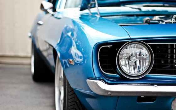 car, muscle, chevrolet, камаро, кары, blue, фара, camaro,