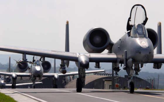авиация, thunderbolt, самолёт
