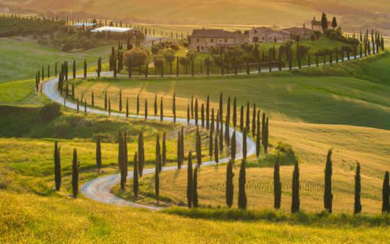 природа, italy, tuscany