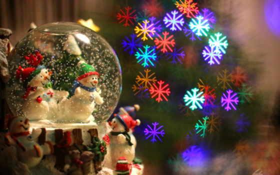 год, new, новогодние, дек, снеговики,