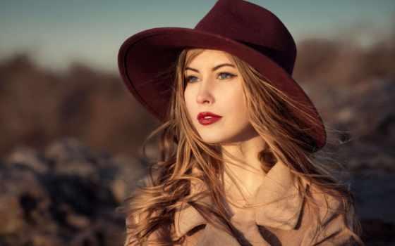 губами, красными, женщина, шляпе, элегантная, stock, images, стоковое, красивая, шляпой,
