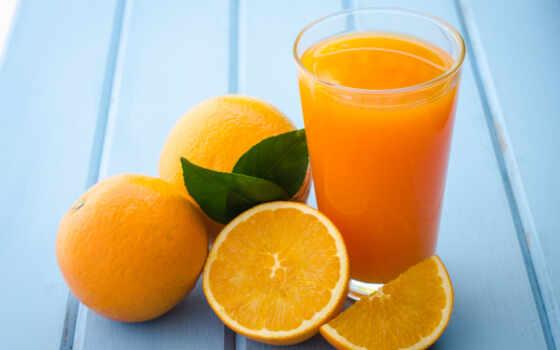 juice, оранжевый, glass, fresh
