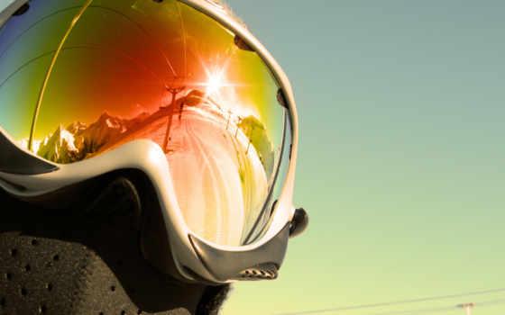 отражение, спортсмен, дорожка, канатная, ski, goggles, desktop, mask, sport, широкоформатные, очки, горнолыжные,