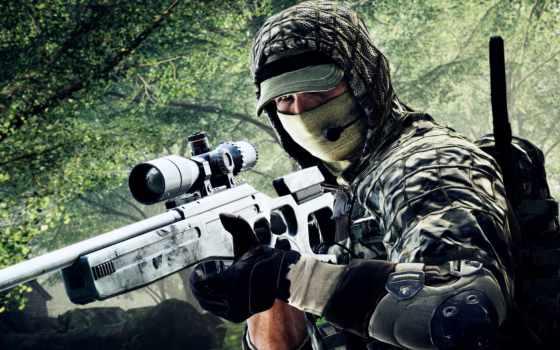battlefield, снайпер, камуфляж, солдат, оружие,