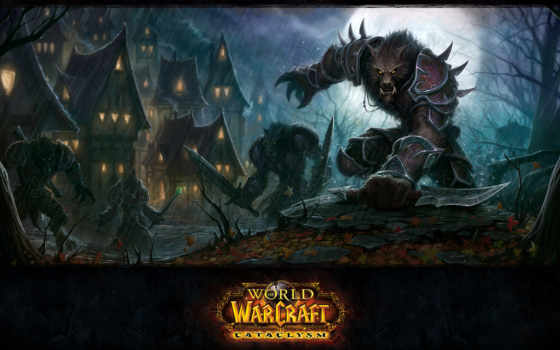 игры, world, игре, warcraft, wow, cataclysm, worgen, blizzard, mmorpg,
