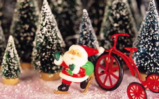 дед, год, мороз, новый, santa, claus, снеговики, картинку, современный, морозы,