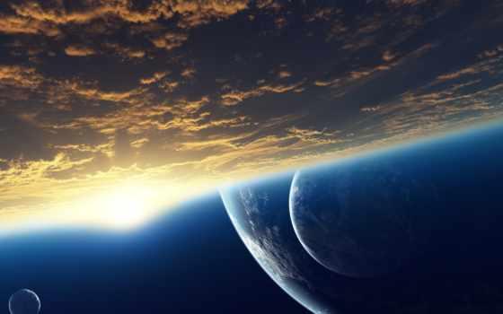 космос, атмосфера, космические