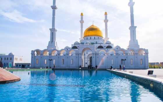 kazakhstan, взгляд, mosque