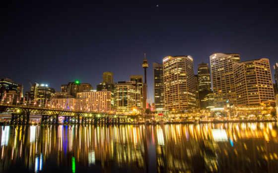 sydney, австралия, free, south, wales, new, города, гавань, skyline,