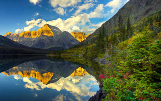 природы, прекрасные, весна, пейзажи -, сша, особенности,