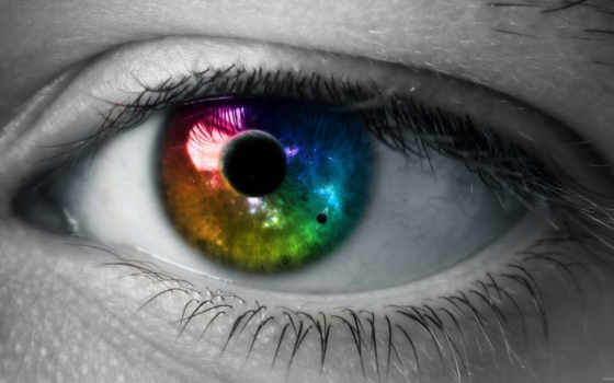 глаз, зрачок