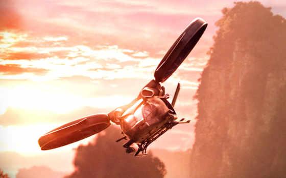 аватар, самолёт, hubschrauber