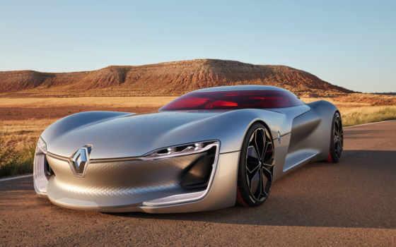 renault, trezor, concept, car, обзор, скорость, top, картинка, electric,