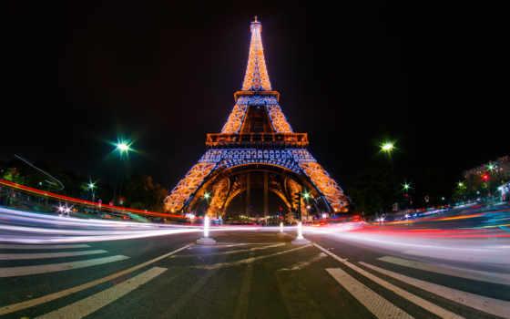eiffel, башня, париж, эйфелева, turret, live, french, города,