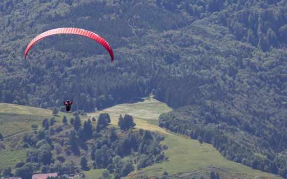 paragliding, спорт, desktop, полет, телефон, this,