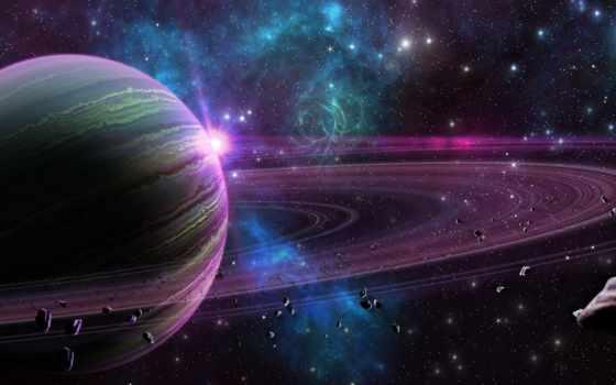 ecran, fonds, cosmos, fond, espace, qualité, planet,