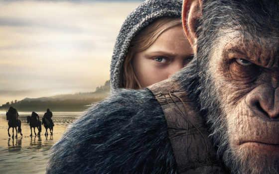 apes, war, planet, свой, обезьян, caesar, года,