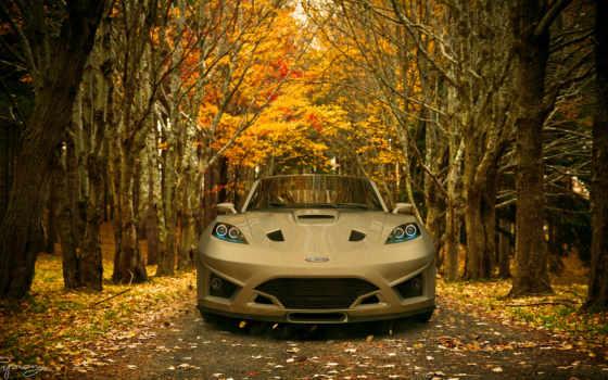 осень, дорога, флот