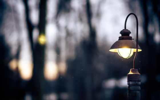 фонарь в фокусе