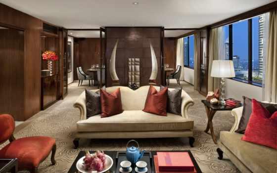 тонировка, массив, дуба, mandarin, мебель, гостиную, камина, oriental,