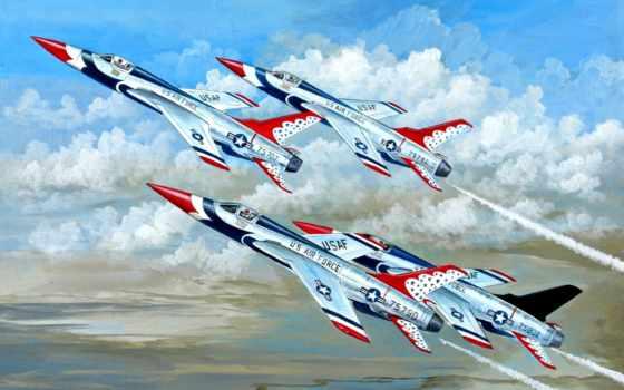 авиация, рисованные, самолеты