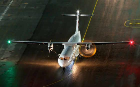 самолет, техника, пропеллер