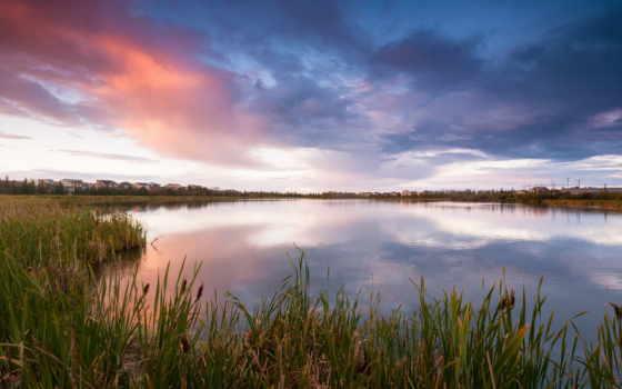 канада, домики, озеро