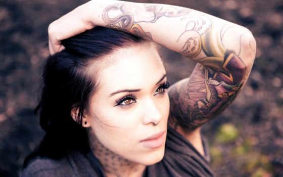татуировка, девушка, girls, татуировки, свой, summer, стиль, colored, tattoos,