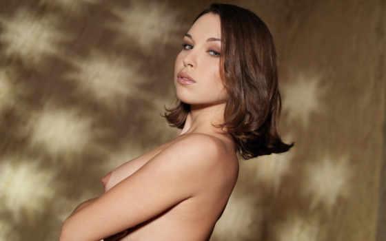 , красивая грудь, девушка, голая,