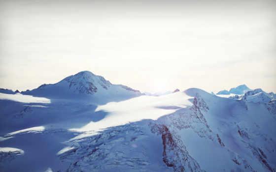 горы, видом