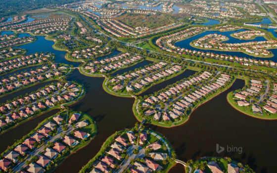 florida, пляж, palm, west, housing, обустройство, usa, bing, images,